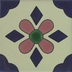 Mexican Talavera Tile Oc 52