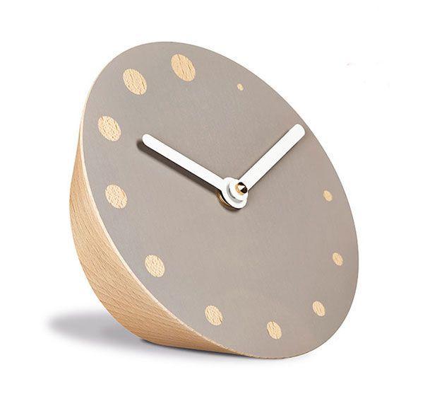 rockaclock  | minimalist wooden clock | Tischuhr | siebensachen by Adam + Harborth | www.siebensachen.com