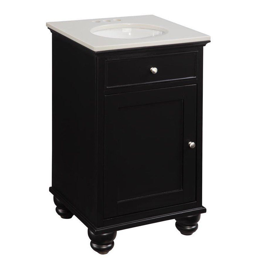 belle foret bf80614r 20-in petite single basin bathroom vanity