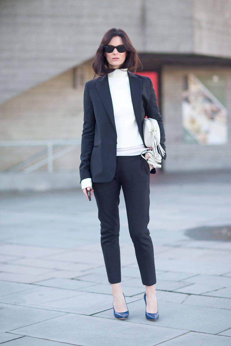 Street Style London Fashion Week Street Fall 2014 - London Street Style - Harper's BAZAAR
