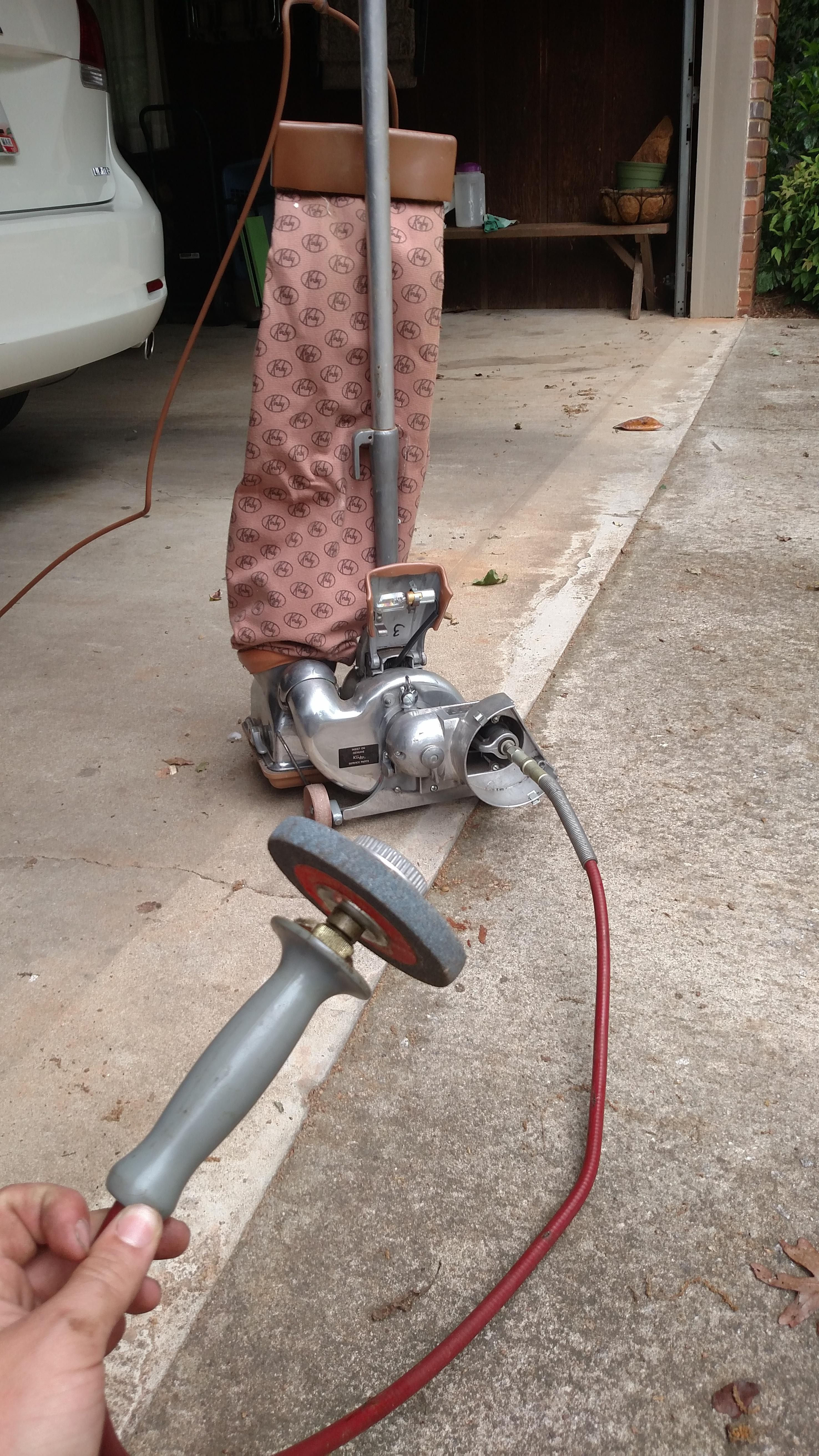 Grinder Attachment For A Kirby Vacuum Kirby Vacuum Cleaning Walls Vacuum Cleaner