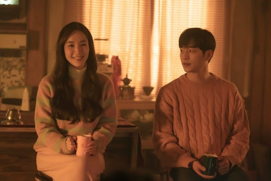 "Park Min Young And Seo Kang Joon Share An Intimate Moment In ""I'll Go To You When The Weather Is Nice"""