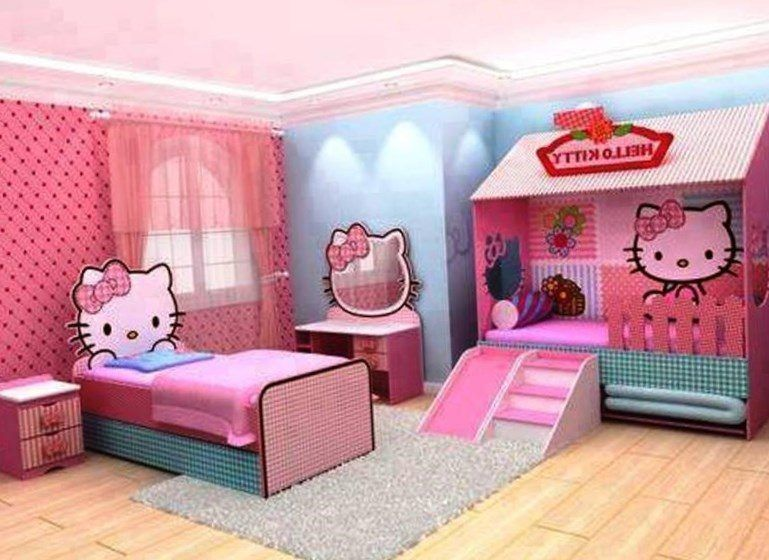 Hello Kitty Bedroom Decor  Httpsbedroomdesign2017 Magnificent Hello Kitty Bedroom Designs Design Decoration