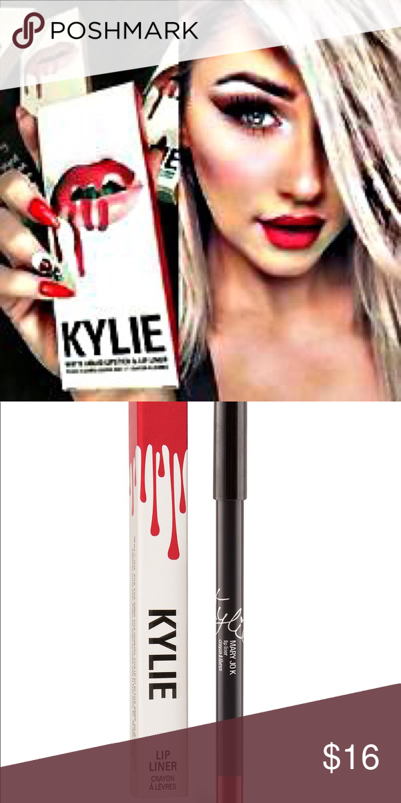 Kylie Mary Jo K Lip Liner NWT Lip liner, Lips, Kylie