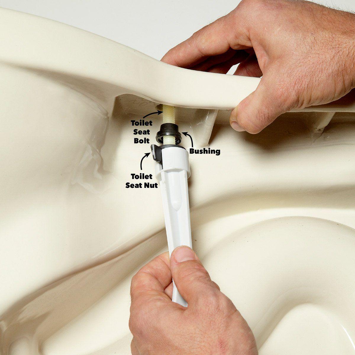 Toilet Seat Repair Keep Your Seat Tight Toilet repair