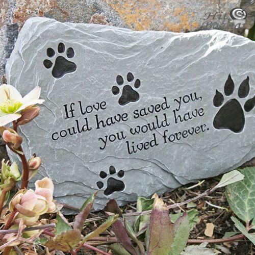 Cat Memorials Stone