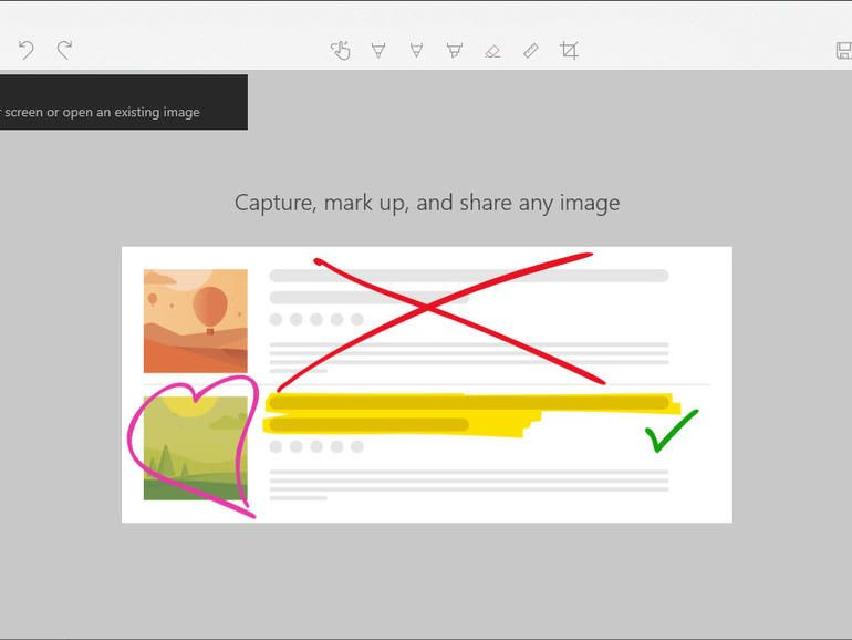 How To Take Screenshots With Windows 10 Snip Sketch