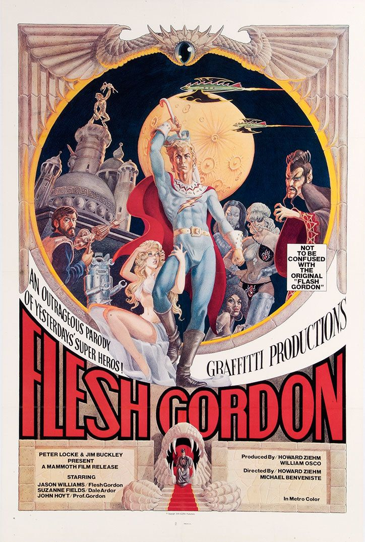 X Rated Adult Movie Posters Of The 60s And 70s Tony Nourmand And Graham Marsh Publication Itsnicethat Flesh Gordon