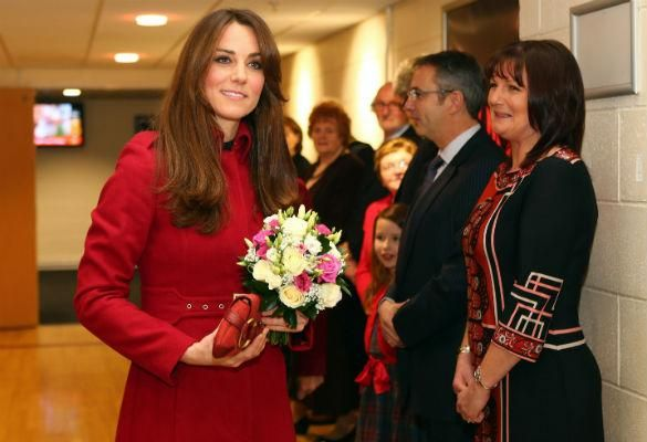 Pregnant Kate Middleton, Duchess Of Cambridge: Carrying Out Two Engagements In Wales