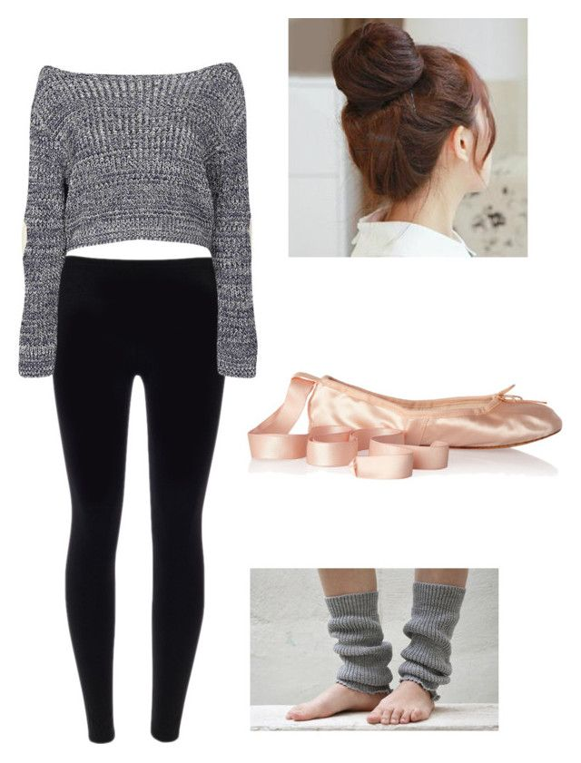 Ballet practice by jimbles on Polyvore featuring polyvore, fashion, style, Boohoo, Ballet Beautiful, Pin Show and clothing