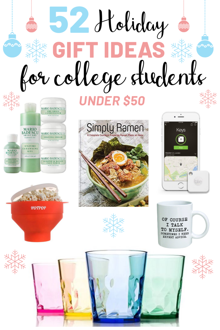 52 Gifts For College Students Under $50 | Gift ideas to buy ...