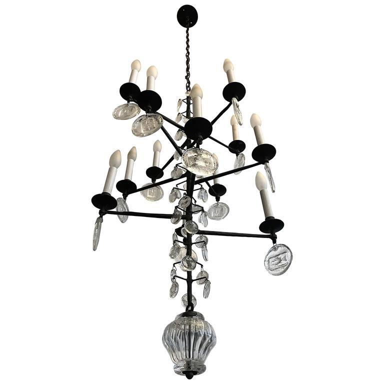Erik hoglund kosta boda crystal 1960s swedish chandelier kosta erik hoglund kosta boda crystal 1960s swedish chandelier 1 mozeypictures Choice Image