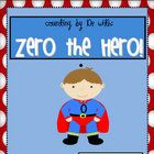 Does Zero the Hero visit your classroom every 10 days?  If not, he should! This pack has everything you need to get you started!  Included are reso...