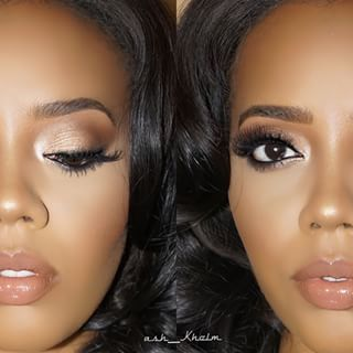 """ash_kholm Major Glam on @angelasimmons product deets Brows