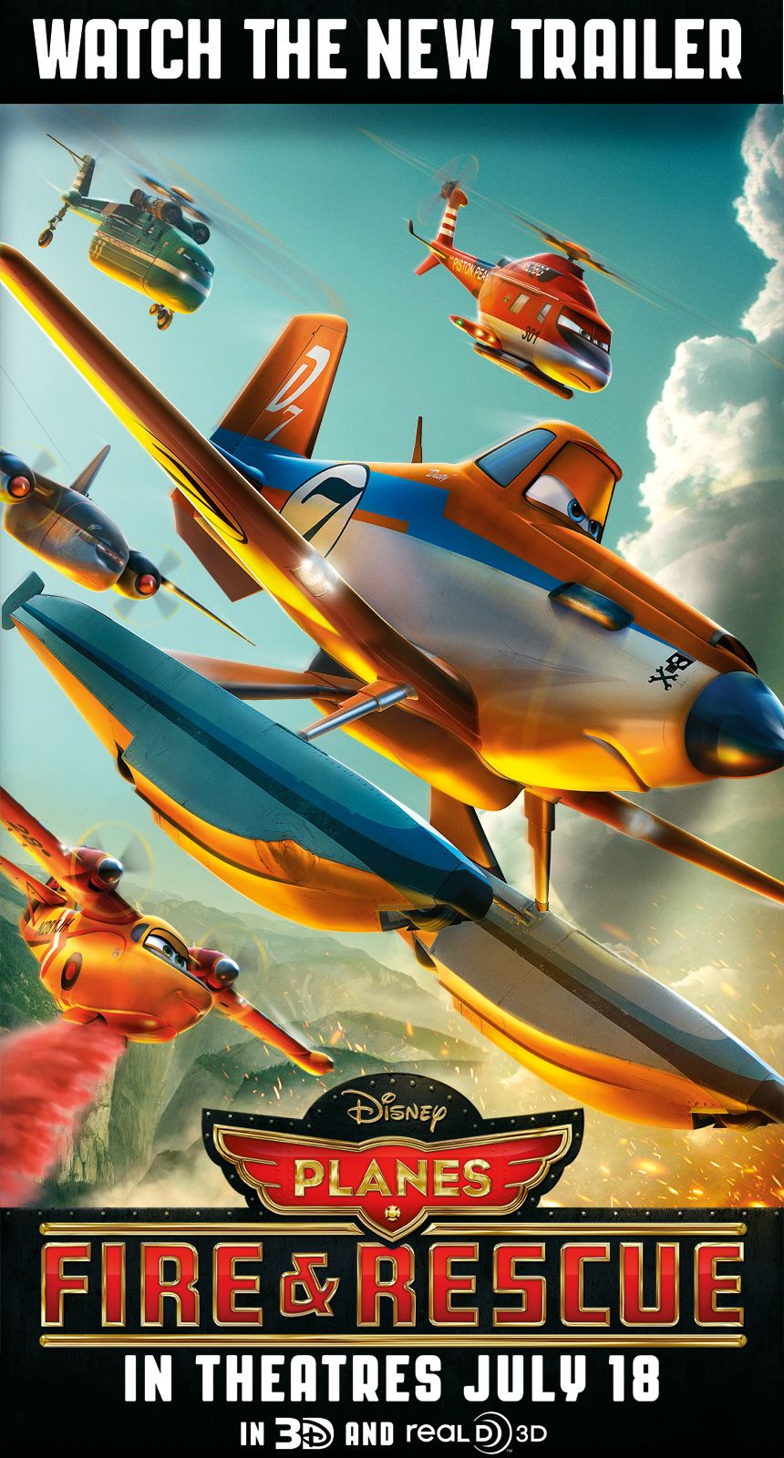 Get your first look at the new Disney's Planes Fire