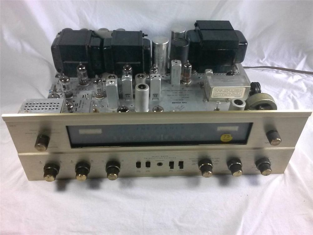 Details about Fisher 500-C FM Stereo Tube Receiver in 2019