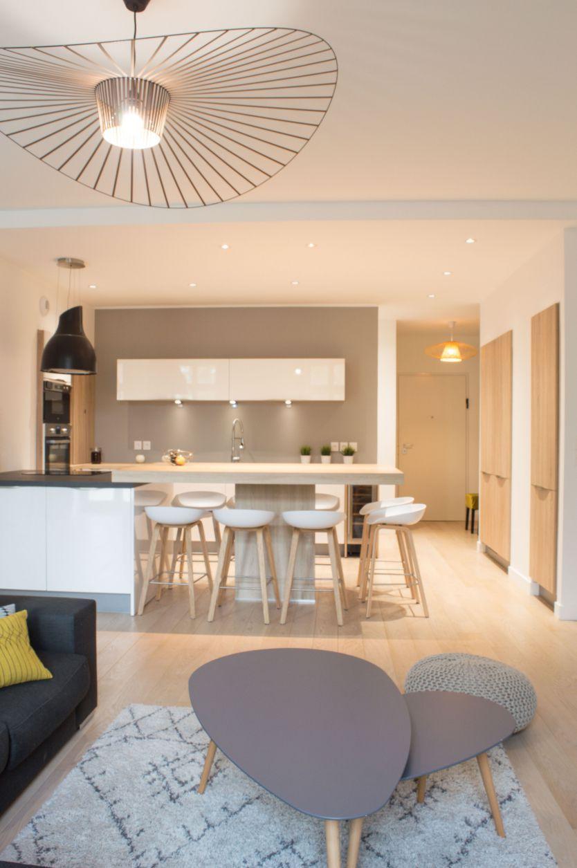 colombe marciano r alisation projet appartement sur plan caluire cuisine dans la maison. Black Bedroom Furniture Sets. Home Design Ideas
