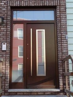 Contemporary Entry Door With Transom   Google Search