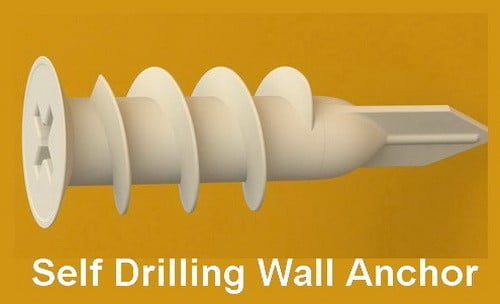 How Do I Repair A Loose Wall Anchor Hole That Has Fallen Out Of Drywall Or Wood Wall Anchors Hanging Curtain Rods Diy Interior Decor
