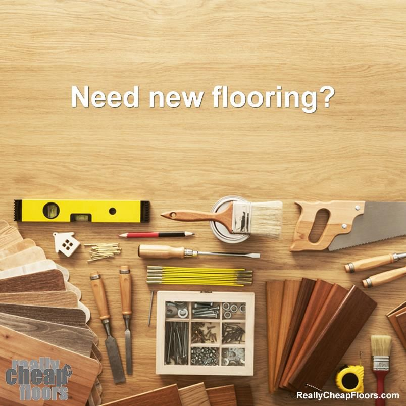 Need new flooring? We've got tons of flooring options!