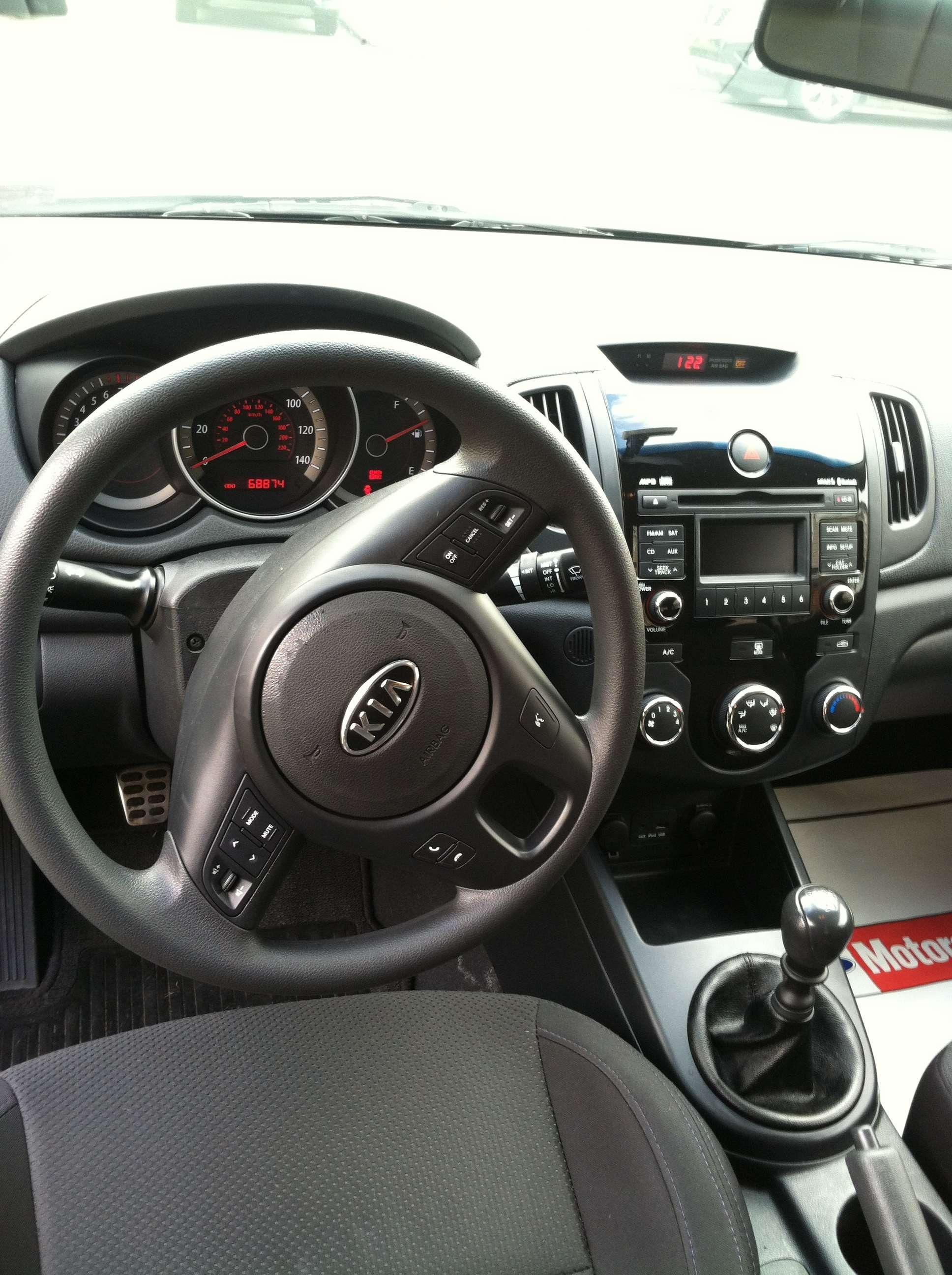 Make Kia Model Forte Year 2010 Exterior Color Black Interior