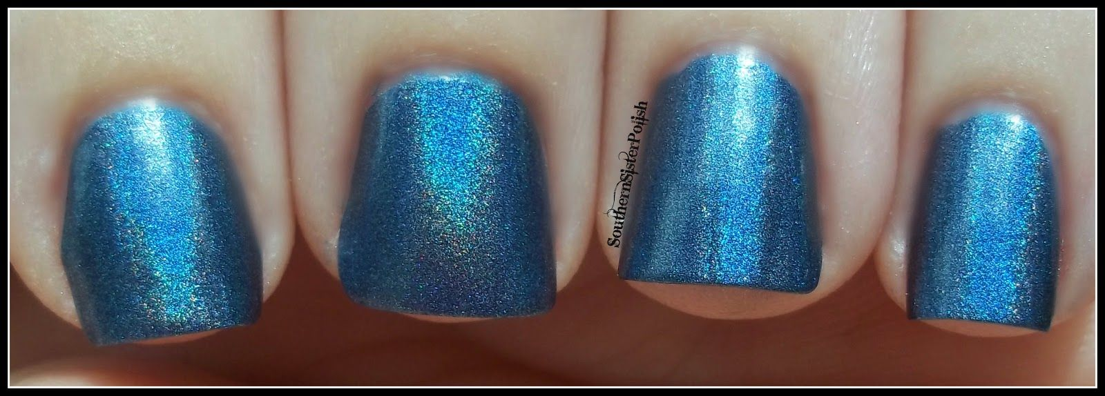 Southern Sister Polish: Holographic Quick Shot...Strap on your Moonboots