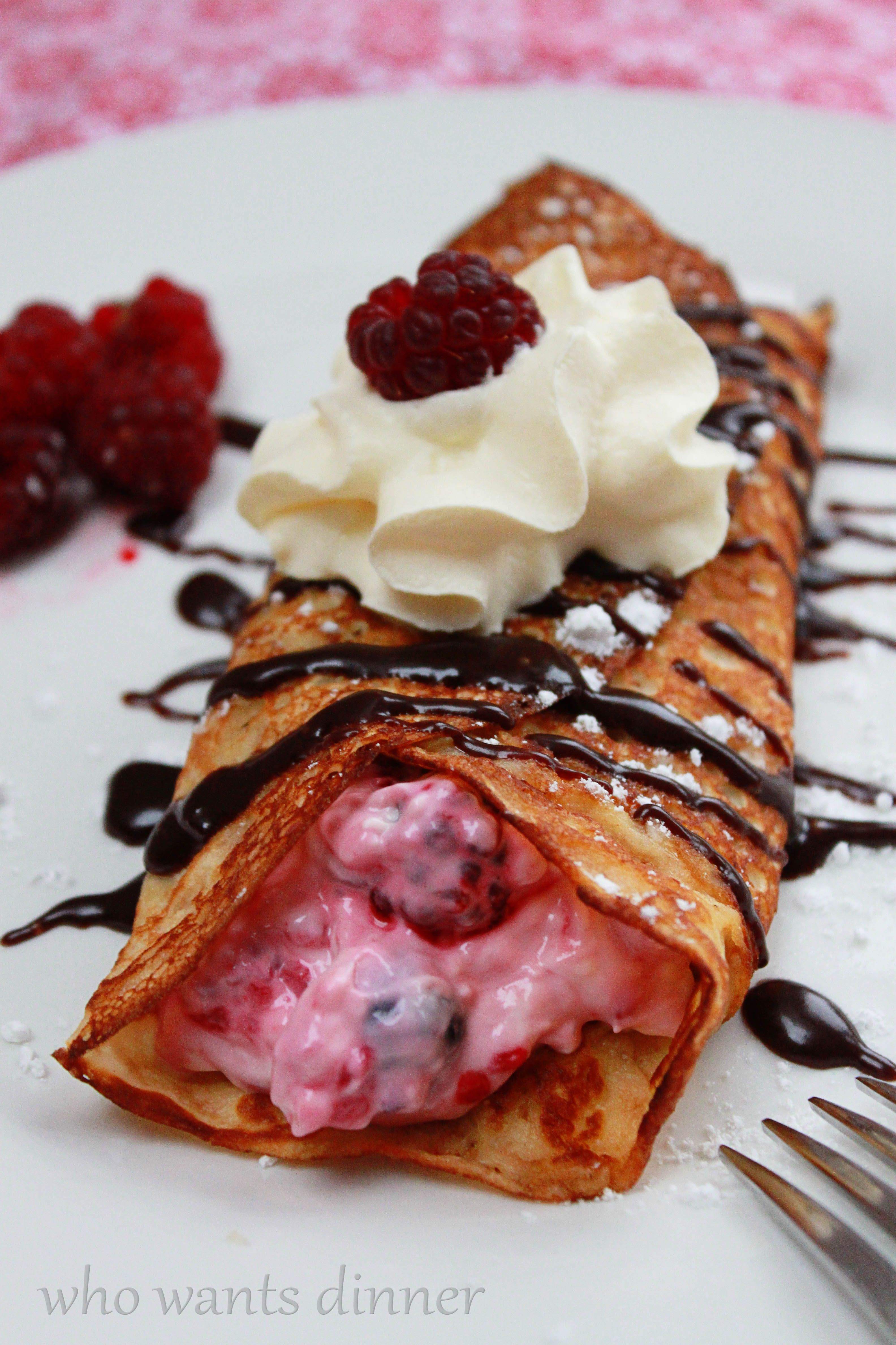 Check out raspberry cream crepes its so easy to make crepes raspberry cream crepes raspberry bushbreakfast ideasbreakfast recipesdessert forumfinder Gallery