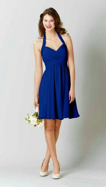 0c78f0e26 Vestido azul francia