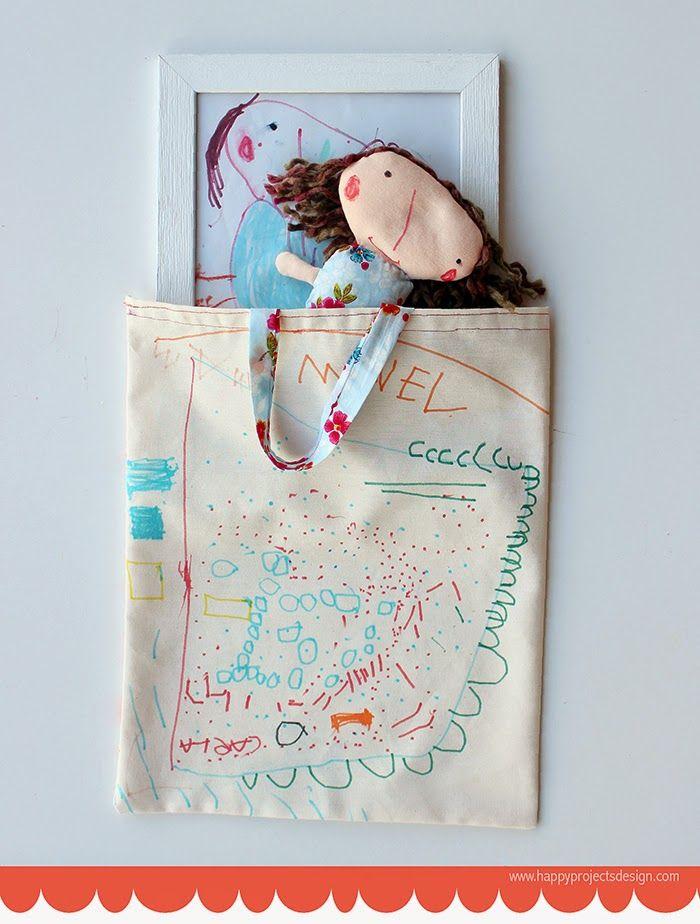 DIY: De dibujo a muñeca + Packaging Personalizado #ToteBag #MuñecaDeTrapo