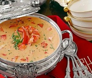 Fancy-Pants Lobster Bisque (With images)   Lobster bisque ...