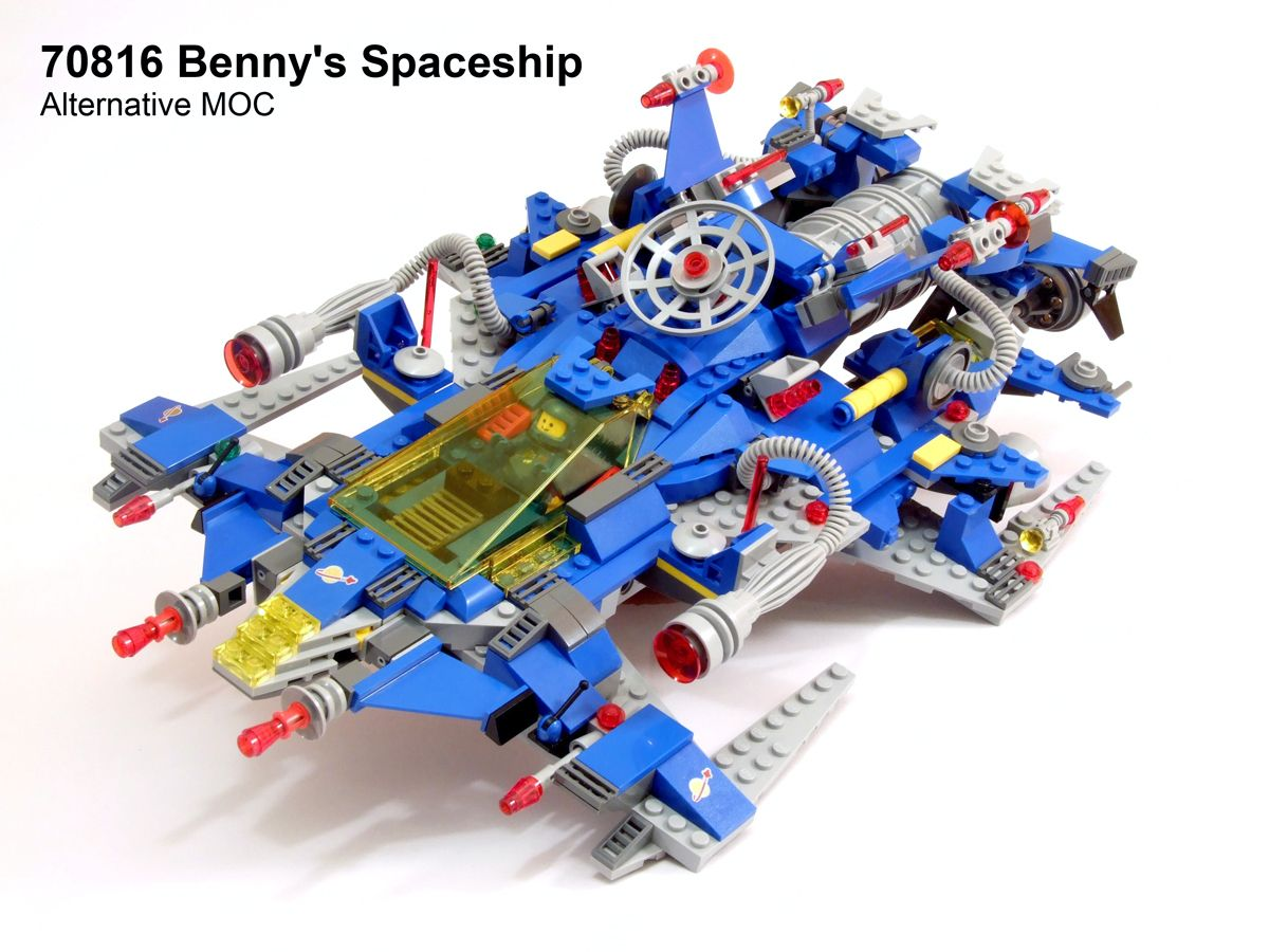 lego moc 70816 benny 39 s spaceship alternative l e g o pinterest lego et espace. Black Bedroom Furniture Sets. Home Design Ideas