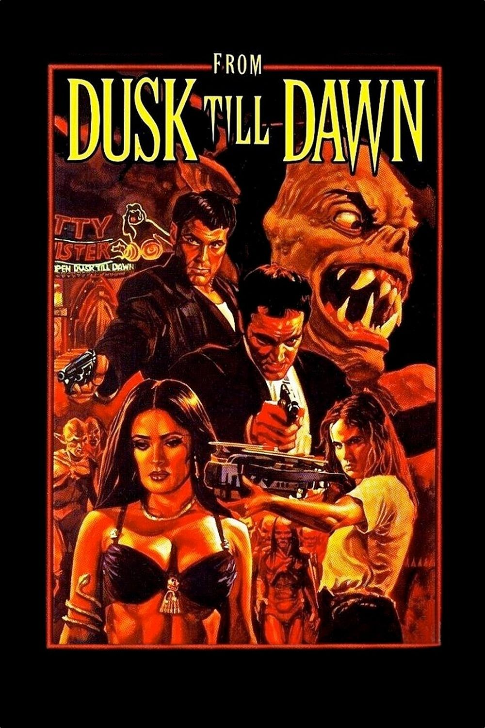 From Dusk Till Dawn Wherein I Gained A Whole New Respect For Salma Dawn Movie Dusk Till Dawn Dawn Pictures