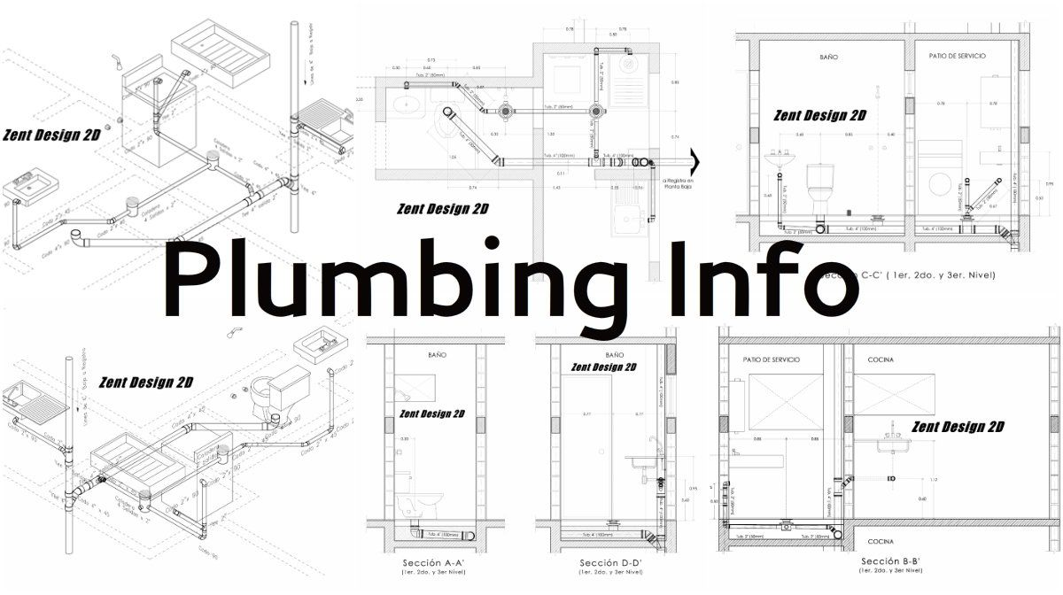 The Base of Plumbing in Several Sketches