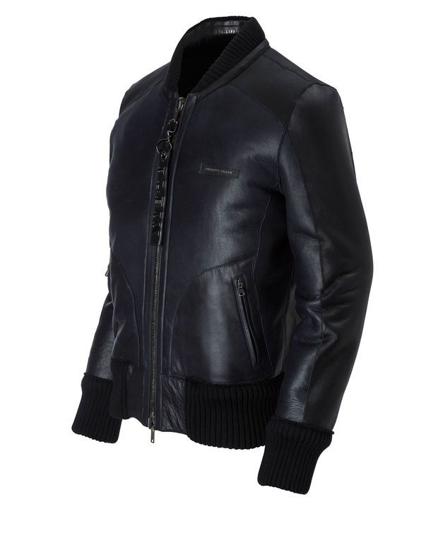 893a381832d Leather Bomber