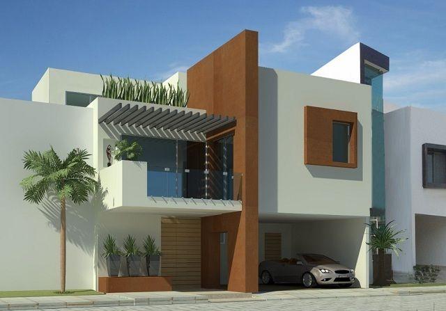 Colores para fachadas de casas modernas fachadas for Colores para pintar frentes de casas