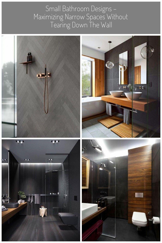 Badezimmer Dunkel Beton Gold Rose Kupfer Badezimmer Beton Dunkel Gold Kupfer Rose Shiplap Badezimmer In 2020 Elegant Bathroom Black Feature Wall Shower Room
