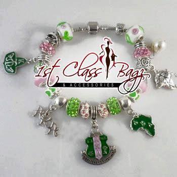 e5b6cbeab AKA Pandora Bracelet AKA Charm Bracelet Alpha Kappa Alpha by  KrystylesBoutique on Etsy ...