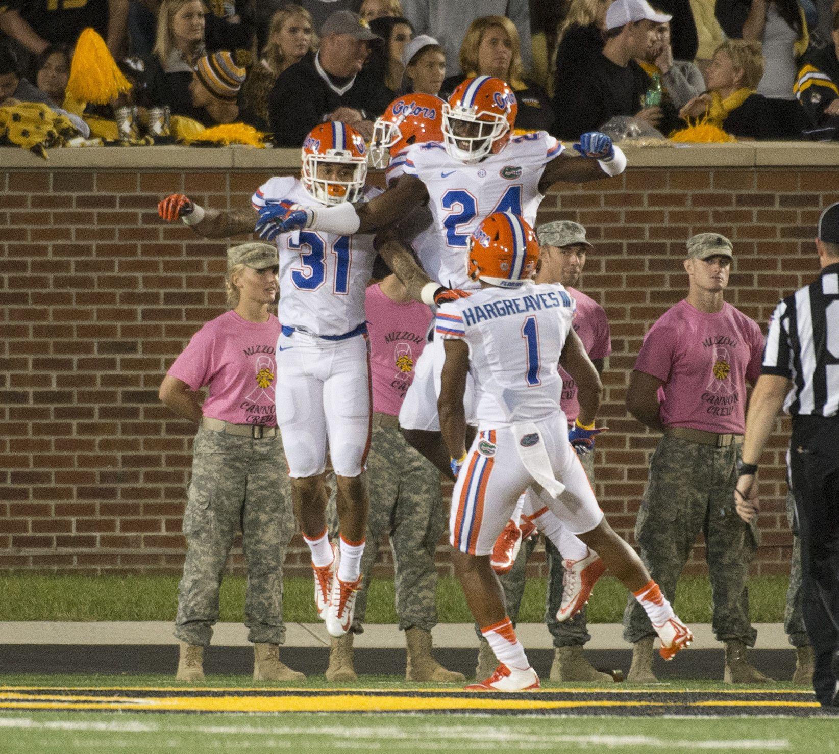 Unbeaten Gators Turn Attention To Heisman Frontrunner Fournette And Lsu Florida Gators Lsu Gators Football