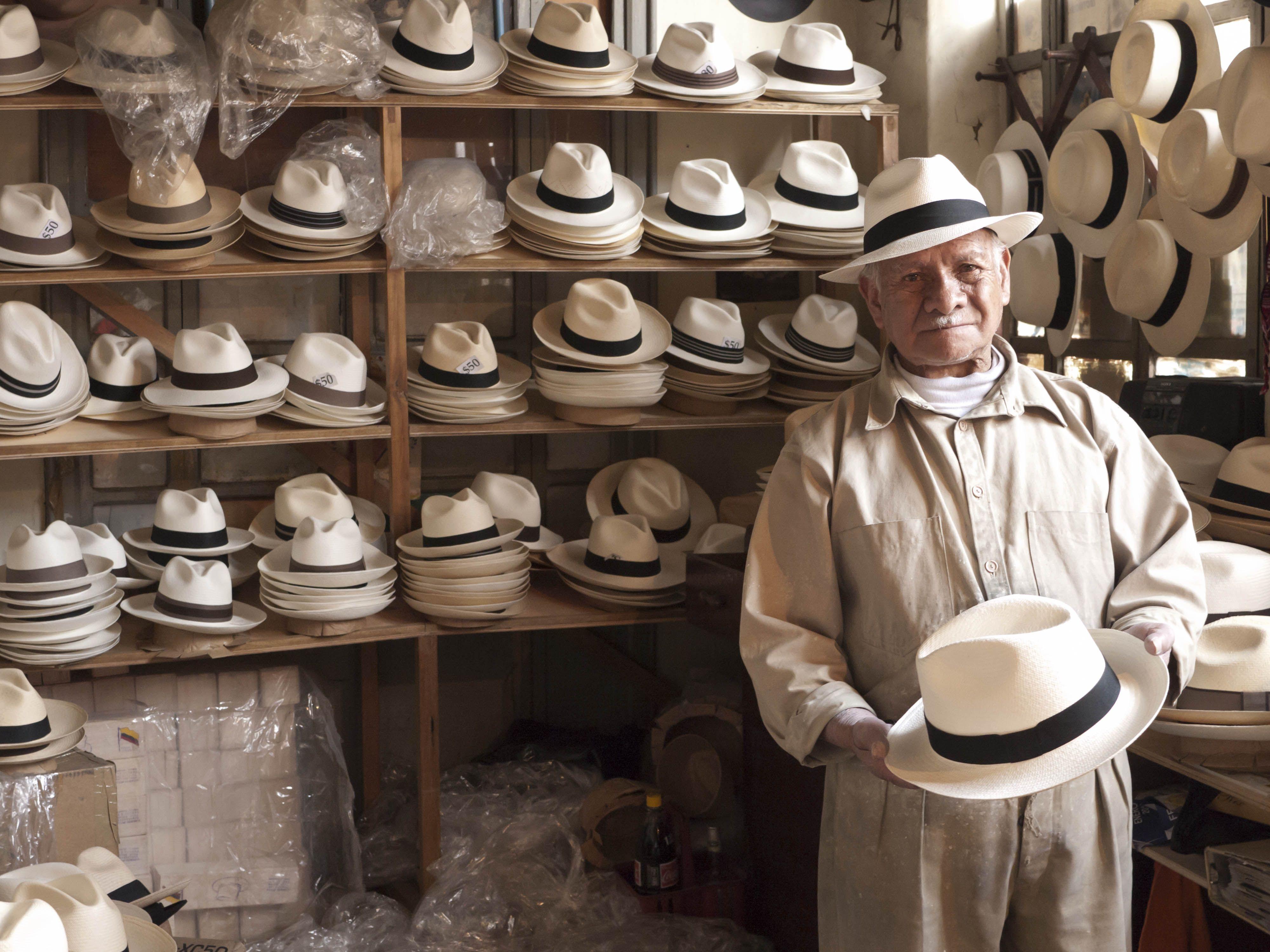 dc4a78414 The REAL panama hats are made in Ecuador!   Ecuador in 2019 ...