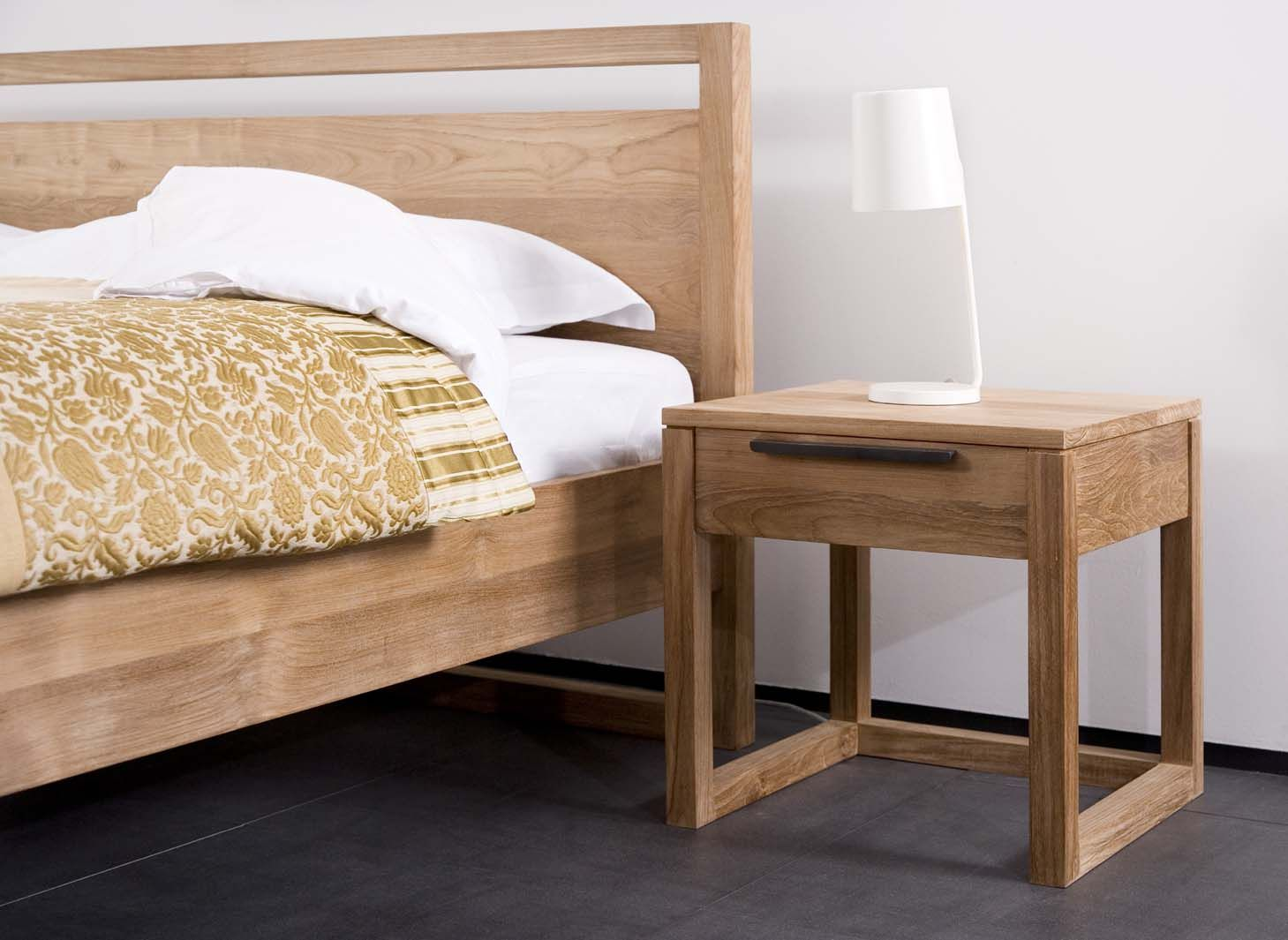 Master bedroom nightstand decor  Ethnicraft Light Frame Nightstand  WFH  Master Bedroom
