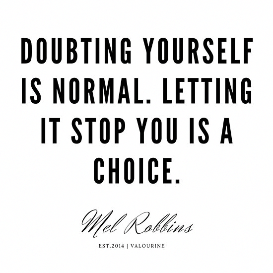 45   | Mel Robbins Quotes | 190802 Poster by QuotesGalore