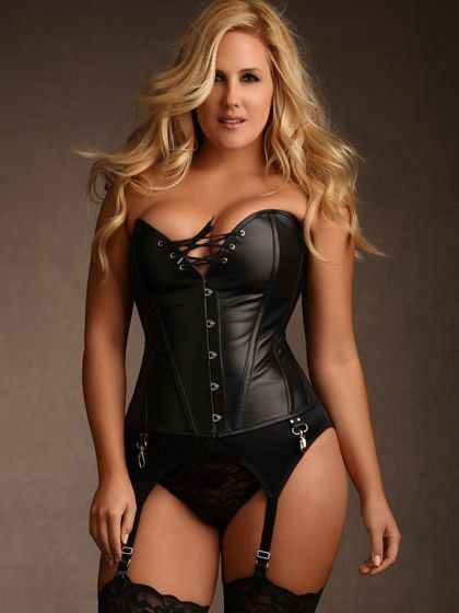 c8c762279a9 Jules Steel Boned Leather Corset by Hips and Curves | Amazing II ...