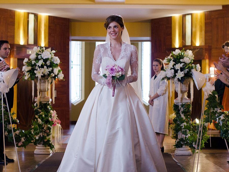 el vestido de novia de cristina | galerías velvet | pinterest