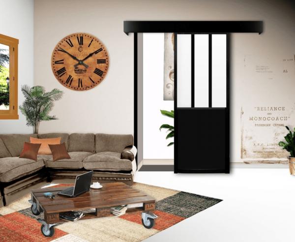 Turbo Où Trouver Une Porte Coulissante Atelier Style Verrière ? | Porte  FK25