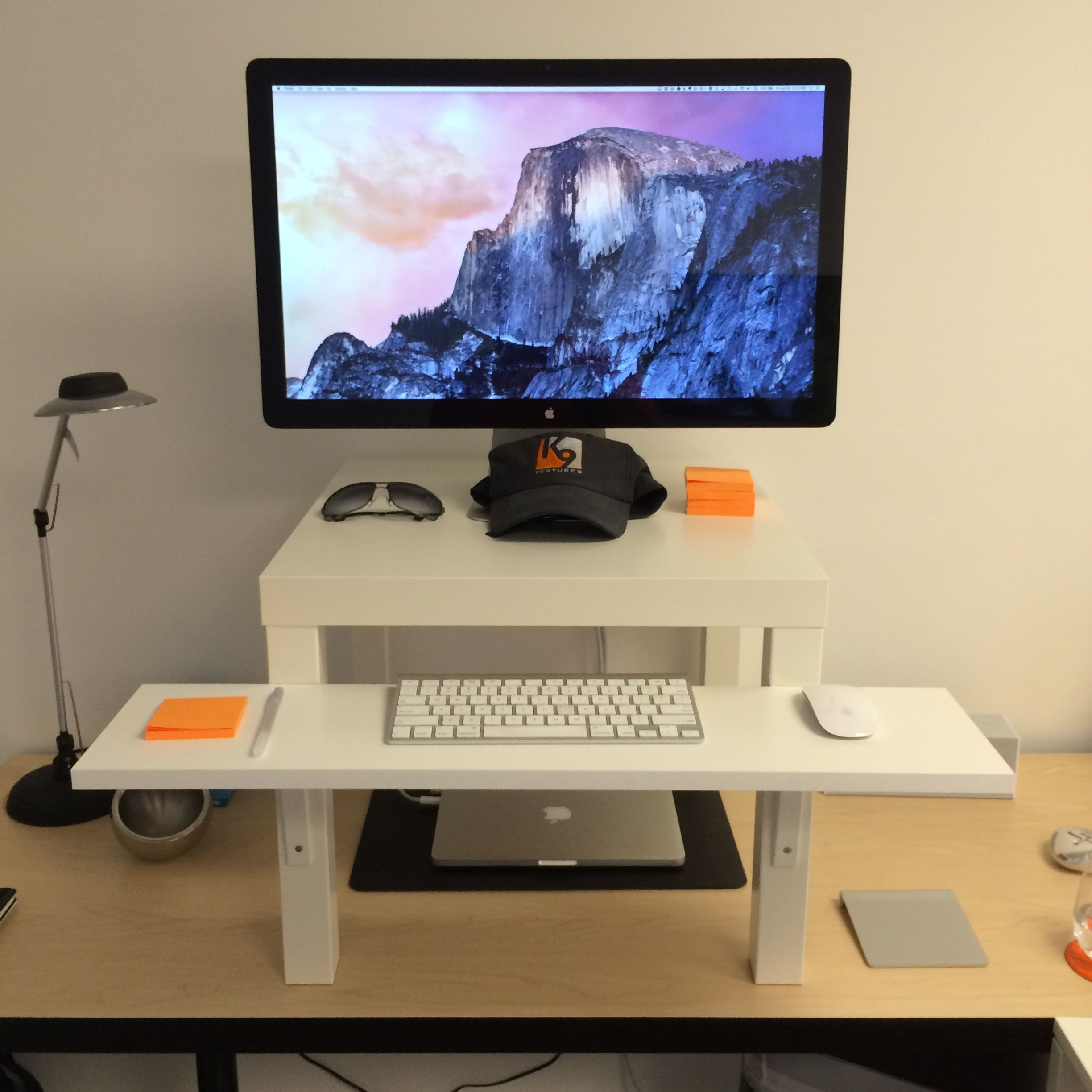 Working To Walk: Designing My Walking Desk   Ventures