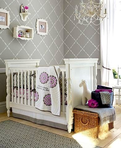 Nursery Wall Stenciling Google Search