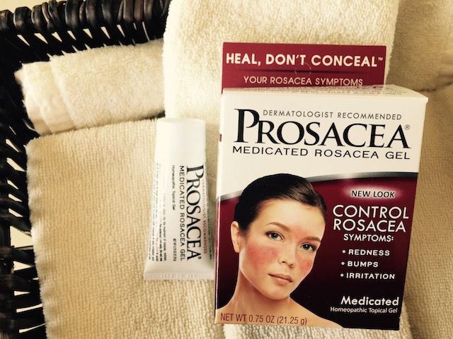 Control Rosacea Symptoms With Over The Counter Prosacea Gel Rosacea Skin Care Rosacea Causes Rosacea