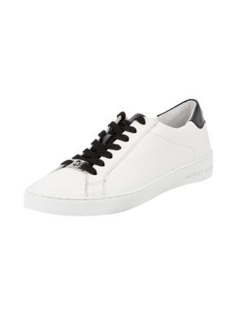 MICHAEL-MICHAEL-KORS Sneaker mit Kontrastbesatz in Weiß ...