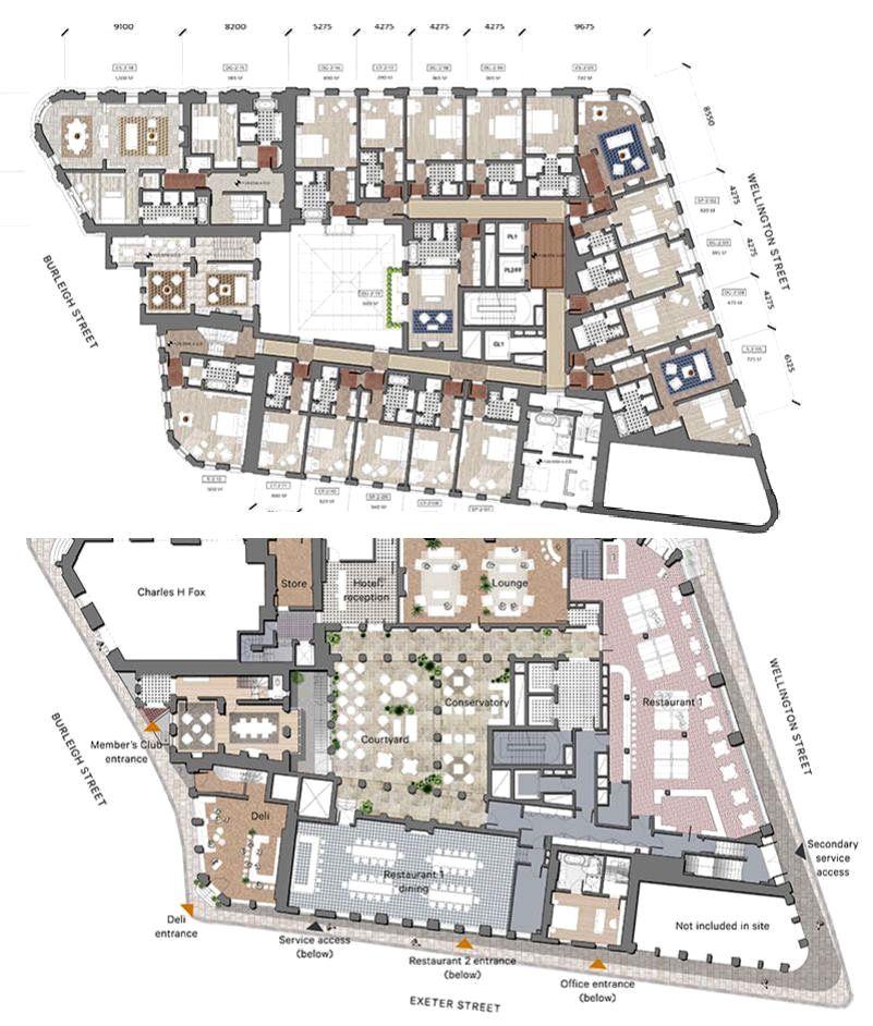 The Wellington Hotel Robert De Niro S Plans For Covent Garden