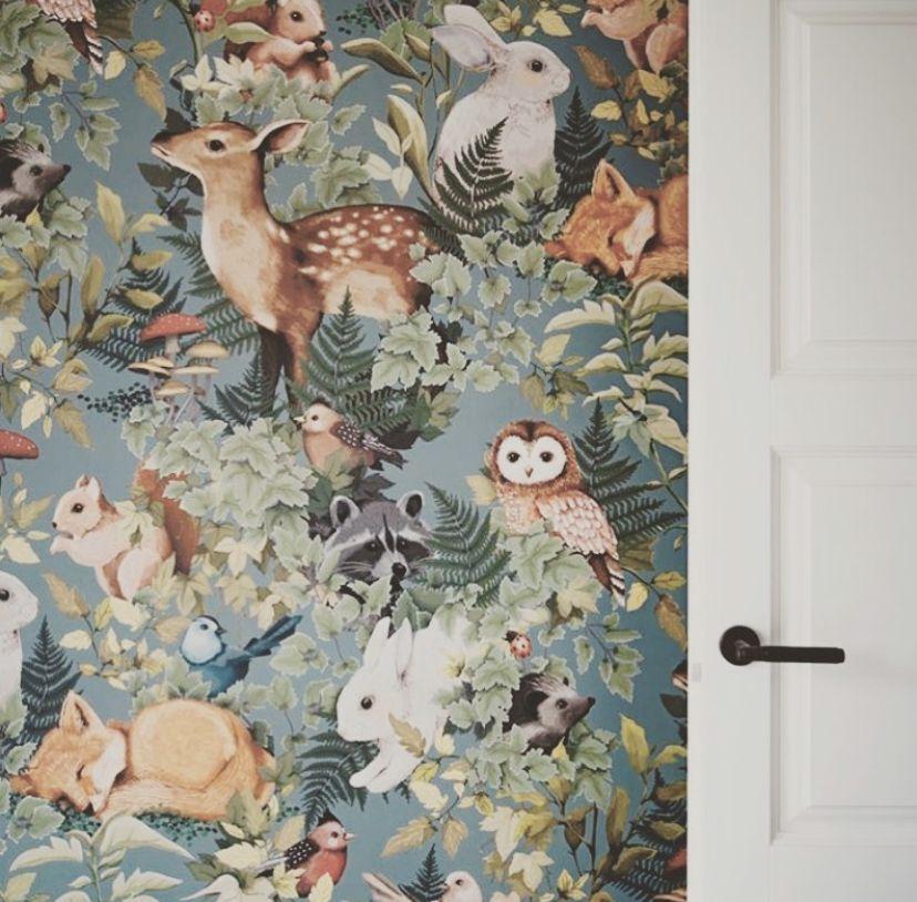 Woodlands Wallpaper by Jimmy Cricket - Peek&Pack